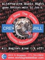 Crew Bar ALT music Ad Concept, Copywriting, Art Direction & Design