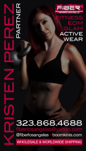 Business Card Concept and Design for FItness Pro •Feb 2016