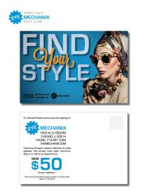 EYE MECHANIX Direct Mail PostCard •Fall 2014