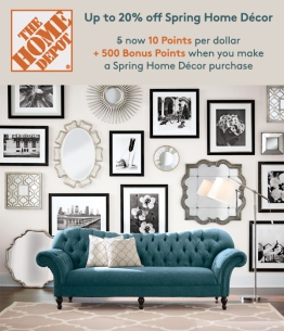 MyPoints Bonus Email for Client: HomeDepot