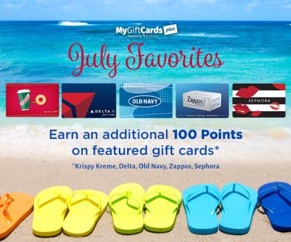 MyGiftCardsPlus.com Bonus Email Design