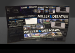 Miller & Desatnik Realty Corp. Custom Large Mailer with Pop-It Business Card - January 2016