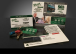 Plaza Cleaners Gift Card/Key Chain Custom Pop-It Card - January 2016
