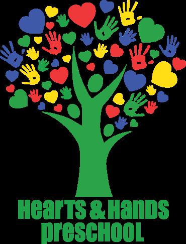 Hearts & Hands PreSchool Logo & School Launching