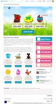 User Interface for Marketing Promo