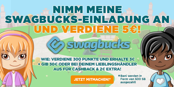 International Swagbucks Marketing PopUp (GERMANY)