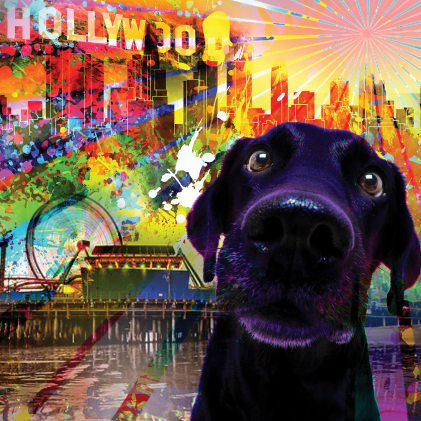 """Happy LA PRIDE"" PawPrintLA June 2018"