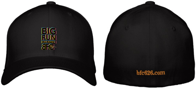 Big Fun Creative SWAG Hats available on zazzle.com