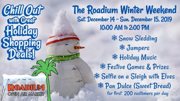 Client: 360 Media Facebook Event AD for Rodium Winter Shopping Event