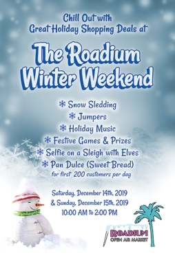 Client: 360 Media Poster for Rodium Winter Shopping Event