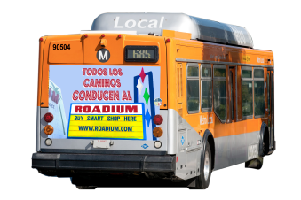 Client: 360 Media Bumper Sticker for Rodium: SPANISH