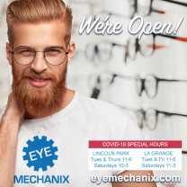 Eye Mechanix We're Open COVID Hours