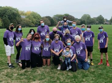 Tee Shirt Design for Client: C Miller for Walk to End Alzheimer's Sept 26, 2020