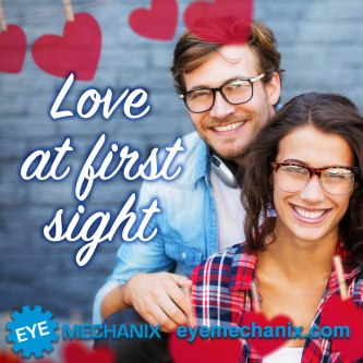 Eye Mechanix Valentines Social Media Post Creative
