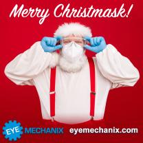 Eye Mechanix XMAS COViD Social Media Post Creative
